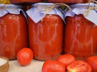 Домашний томатный сок на зиму: рецепты