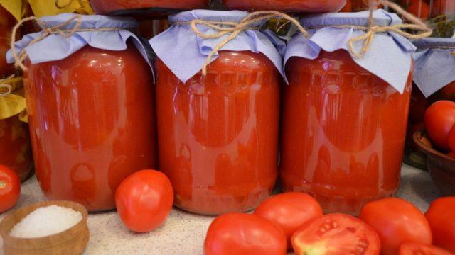 Как самому сделать томатный сок из помидор 690