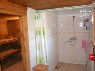 Мобильная баня с душем на дачу