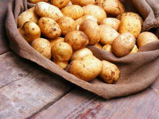 Хранение мытой картошки