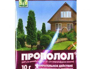 Прополол от сорняков: инструкция по применению