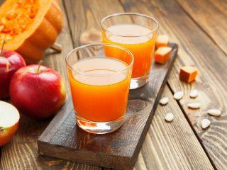 Как сварить компот из тыквы с яблоками
