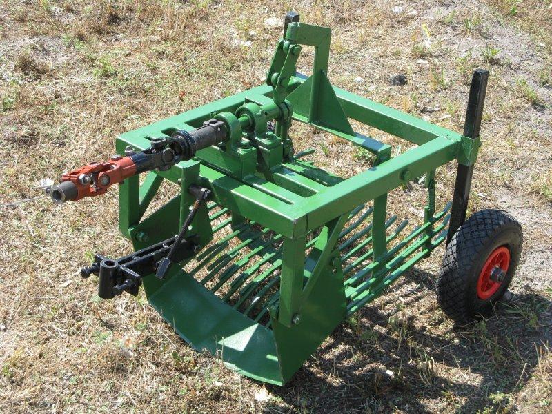 Картофелекопалка на трактор своими руками 68