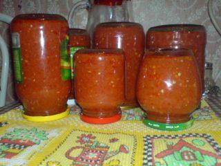 Аджика Заманиха: рецепт на зиму