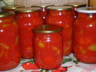 Лечо с луком: рецепт приготовления