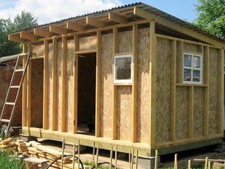 Как построить сарай своими руками дешево