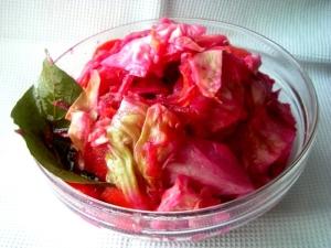 Как квасить капусту со свеклой: рецепт