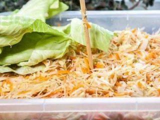 Простой рецепт квашеной капусты с фото