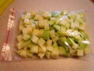 Как заморозить кабачки для прикорма