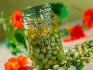 Настурция: сбор семян
