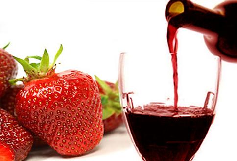 вино в домашних рецепт Клубничное условиях