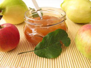 Варенье из яблок с айвой: рецепт