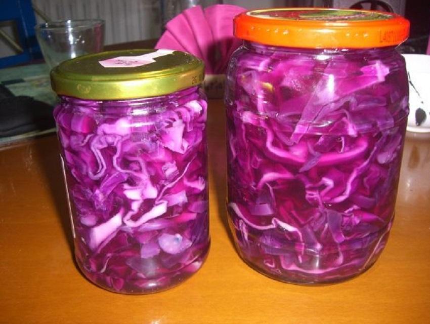 Что можно приготовить из фиолетовой капусты: рецепты салатов и других вкусных блюд