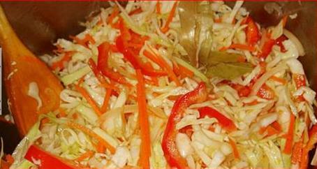 Рассол для капусты с болгарским перцем