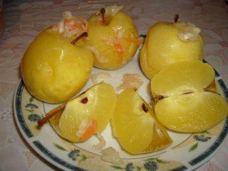Моченые яблоки Антоновка