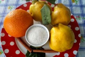 Рецепт варенья из айвы и апельсина