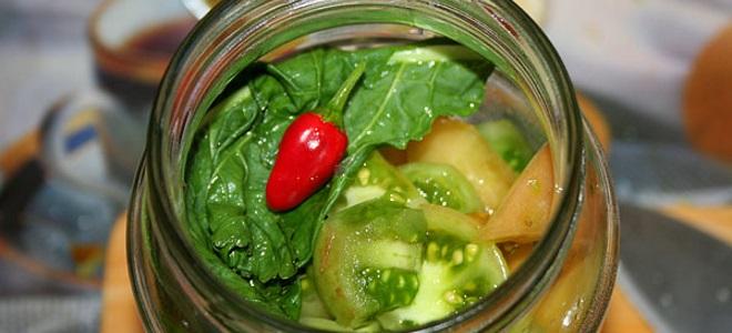 Зеленых помидор острые на зиму рецепты