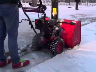 Снегоуборщик Форза (Forza): характеристики моделей