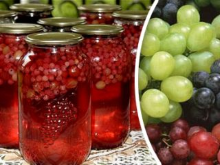 Рецепт компота из винограда кишмиш
