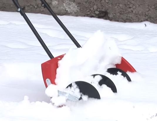 Как сделать снегоуборочную лопату видео
