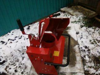 Снегоуборщик для мотоблока АГРО