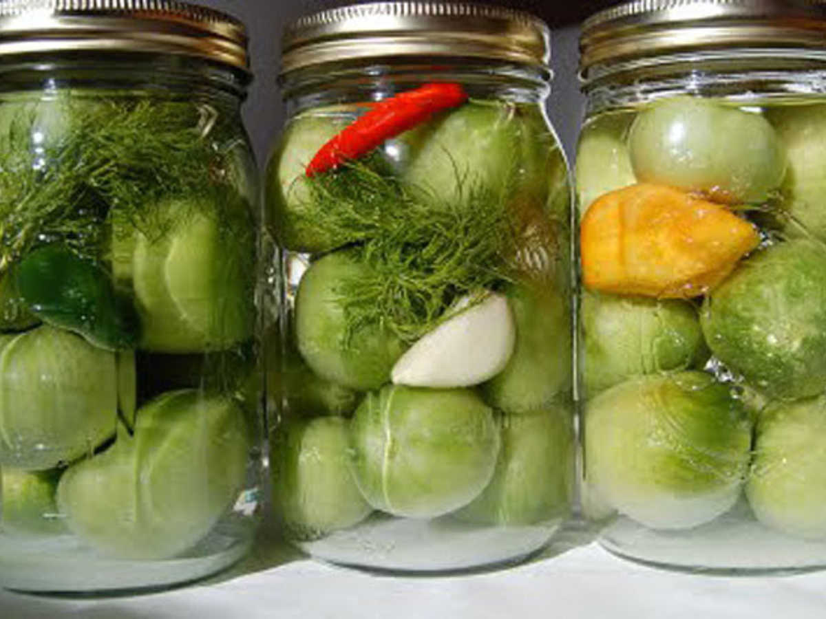 Что сделать с зелеными помидорами рецепт пошагово