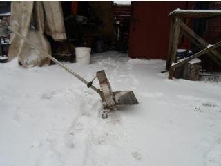 Как сделать снегоуборщик из триммера + чертежи