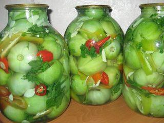 Как замариновать зеленые помидоры как в СССР