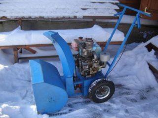 Как сделать снегоуборщик из бензопилы Дружба