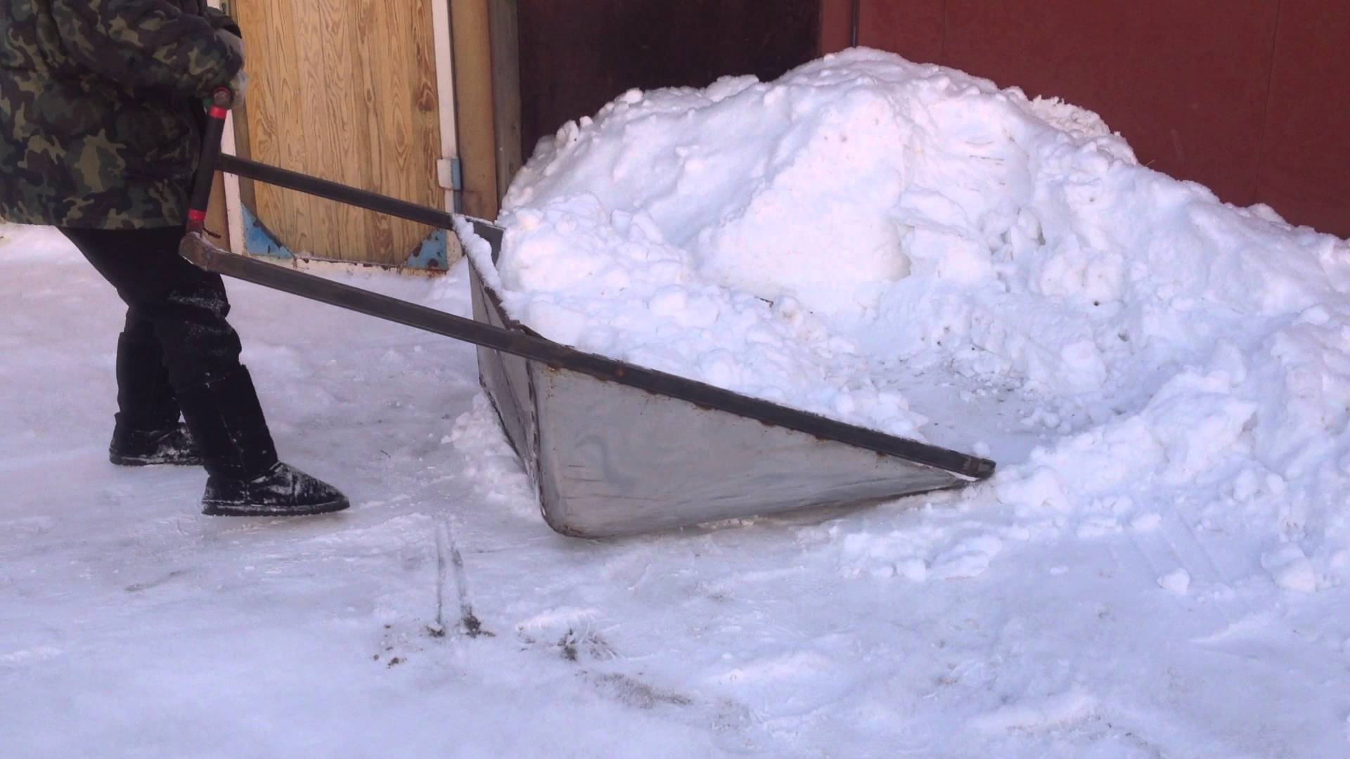 Сделать лопату для уборки снега своими руками фото 683