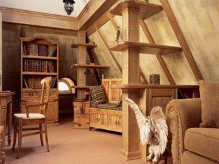 Дизайн интерьера дачного дома внутри своими руками + фото