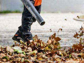 Садовый пылесос для сбора листьев