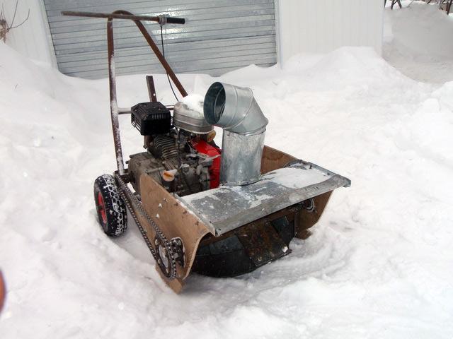 Супер лопата для снега со шнеком