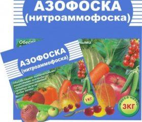 Удобрение Азофоска:применение, состав
