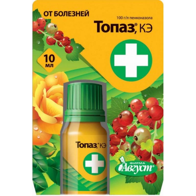 Фунгицид Топаз — лучшее средство от мучнистой росы