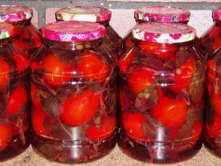 Помидоры, маринованные со свеклой: 8 рецептов