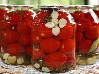 Засолка помидоров черри