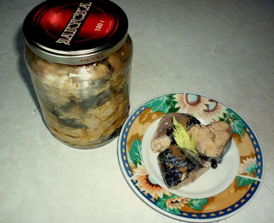 Рыбные консервы в духовке в банках