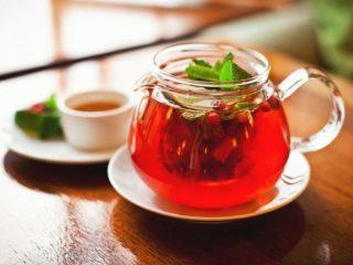 Рецепты клюквенного чая