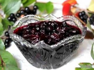 Варенье из черноплодки в мультиварке