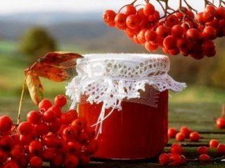 Варенье из красной рябины в домашних условиях