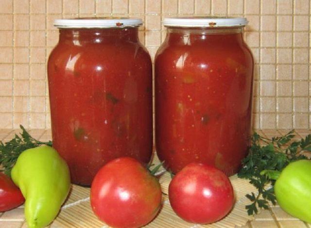 Борщевая заправка на зиму с томатной пастой