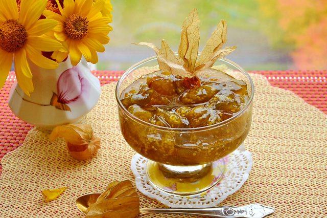 Варенье из физалиса с лимоном наивкуснейший рецепт, как приготовить