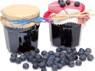 Желе из черники: рецепты без желатина и с желатином