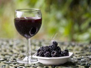 Вино из тутовника