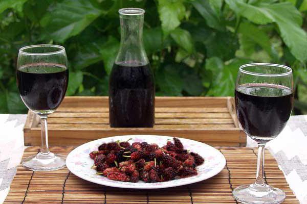 Вино из шелковицы (тутовника) рецепты приготовления в домашних условиях, отзывы