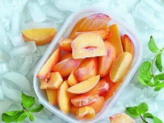 Как заморозить свежие персики на зиму