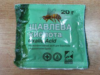 Обработка пчел щавелевой кислотой дым-пушкой