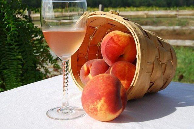 Вино из персиков простые рецепты в домашних условиях
