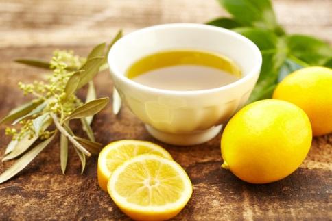 Лимон оливковое масло
